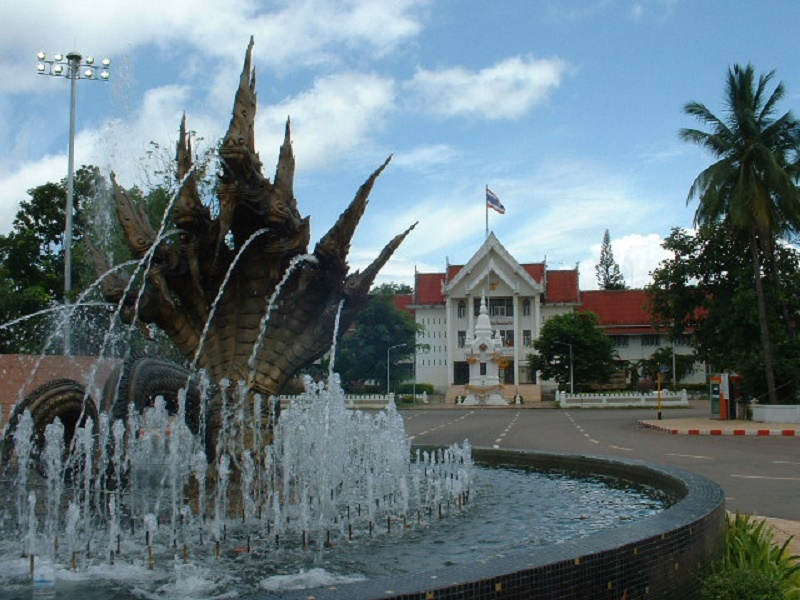 Nong Khai Old City Hall in Northeastern Thailand