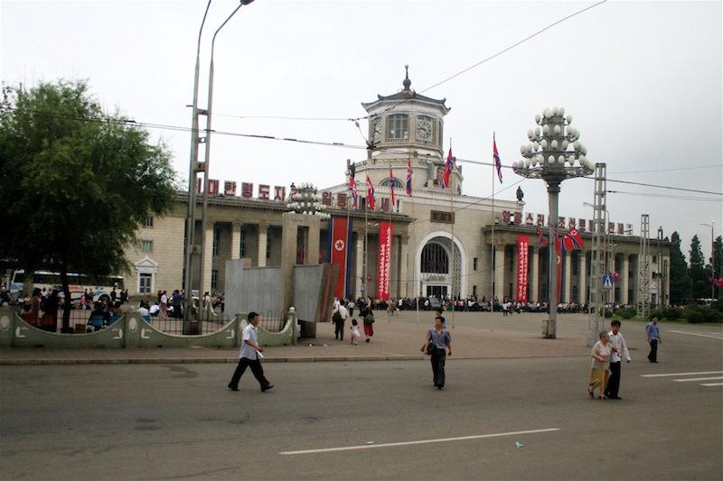 Pyongyang station, North Korea