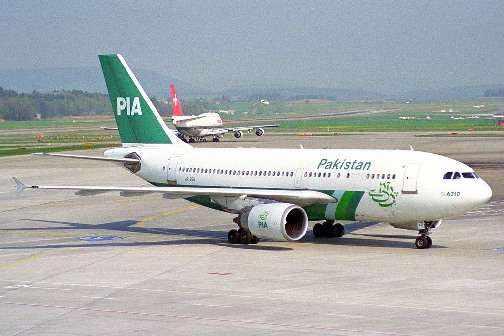 PIA Pakistan International Airlines Airbus A310-304