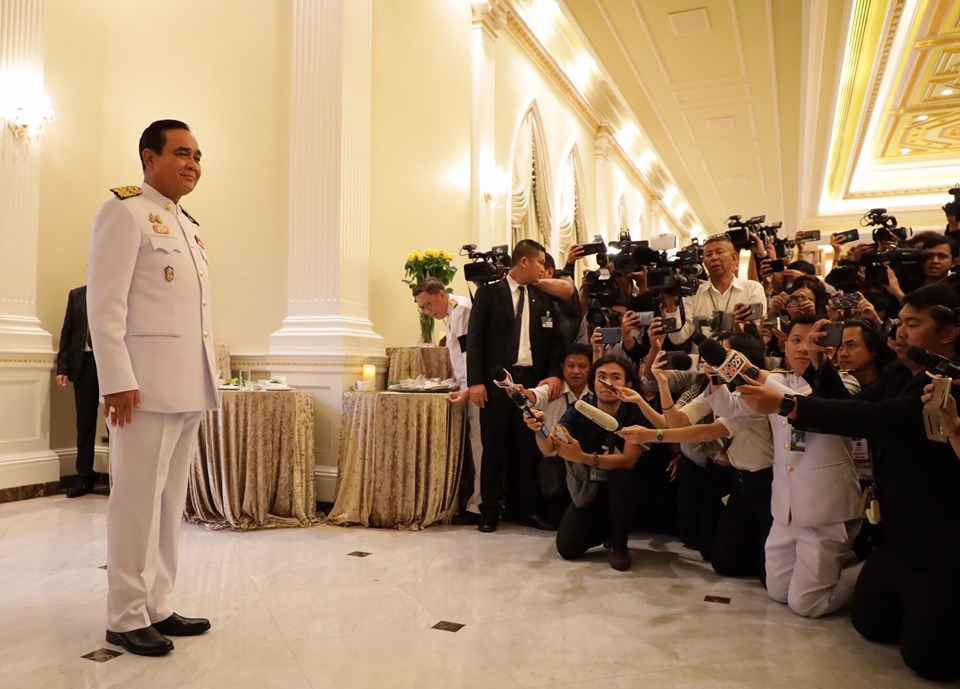 Prayuth Chan-o-cha takes office as prime minister of Thailand