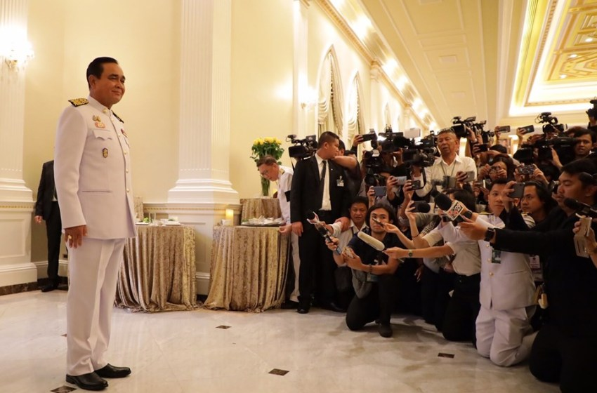 PM Prayut Chan-o-cha apologizes for delay in government formation