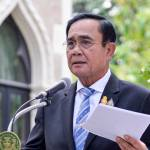 Prime Minister Prayut Chan-o-cha at the Government House