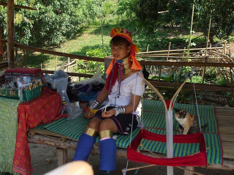 Long Neck Padung woman in Chiang Mai.