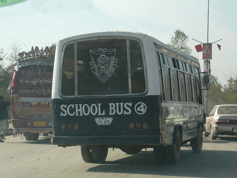 School Bus in Peshawar