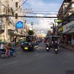 Pattaya Walking Street during daytime