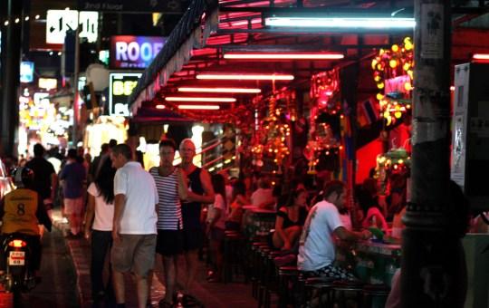 Bars in Walking Street, Pattaya