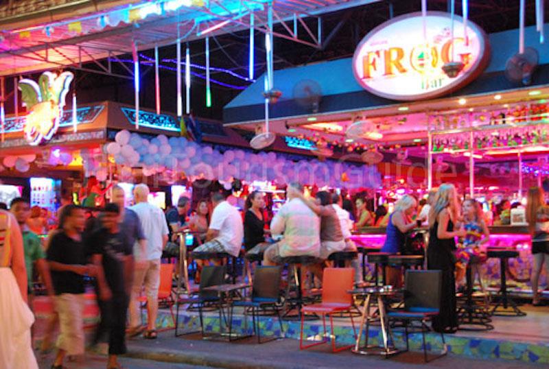 Russian falls through bar roof in Pattaya