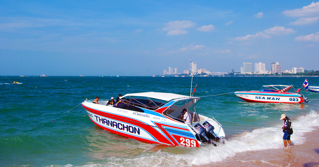 Speedboats in Pattaya