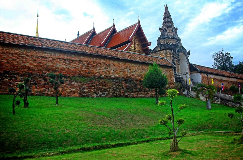 A temple (Wat) in Phayao, northern Thailand