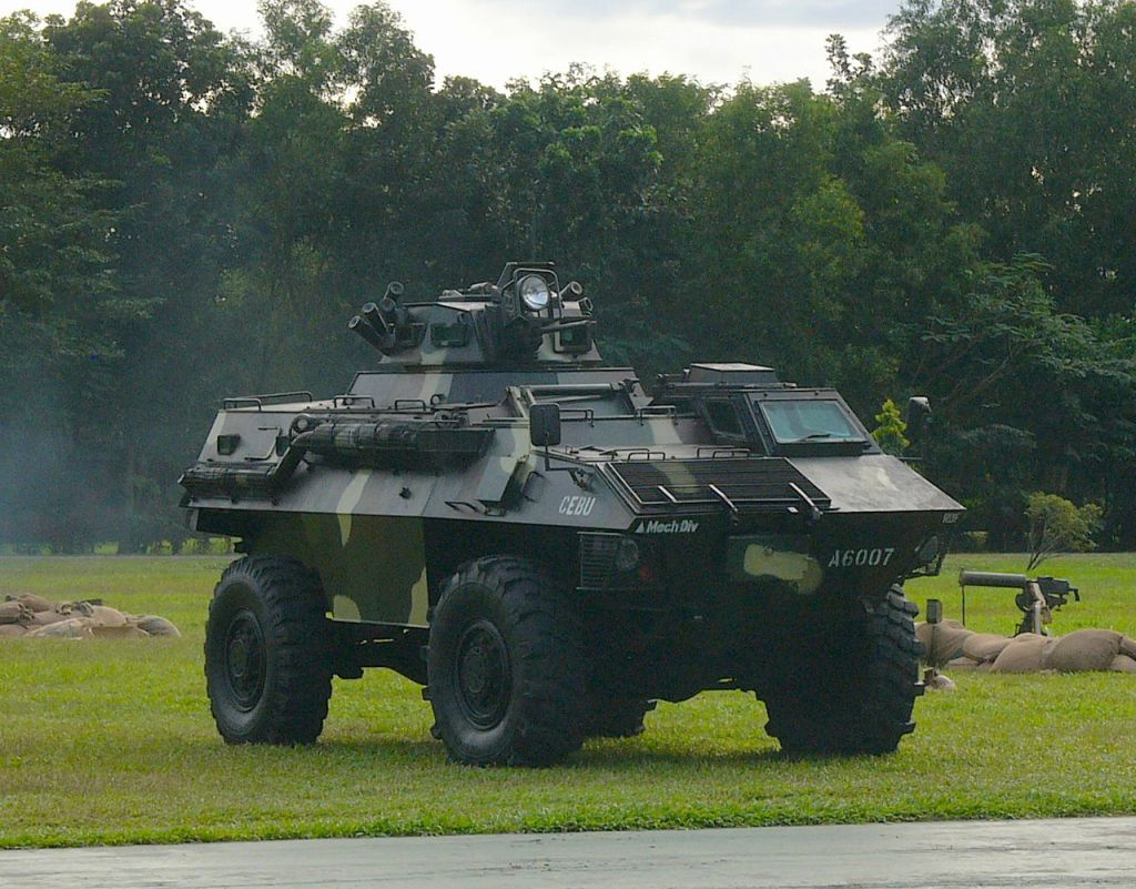 Philippine Army GKN Simba Armored Fighting Vehicle