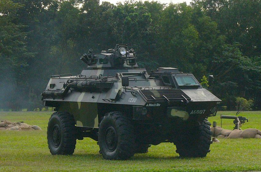 Philippine Army GKN Simba Armored Fighting Vehicle