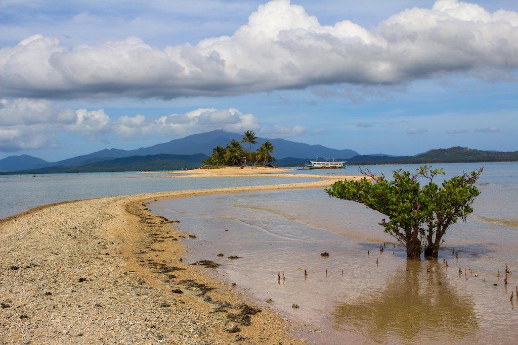 Barlas Island in Honda Bay, Philippines