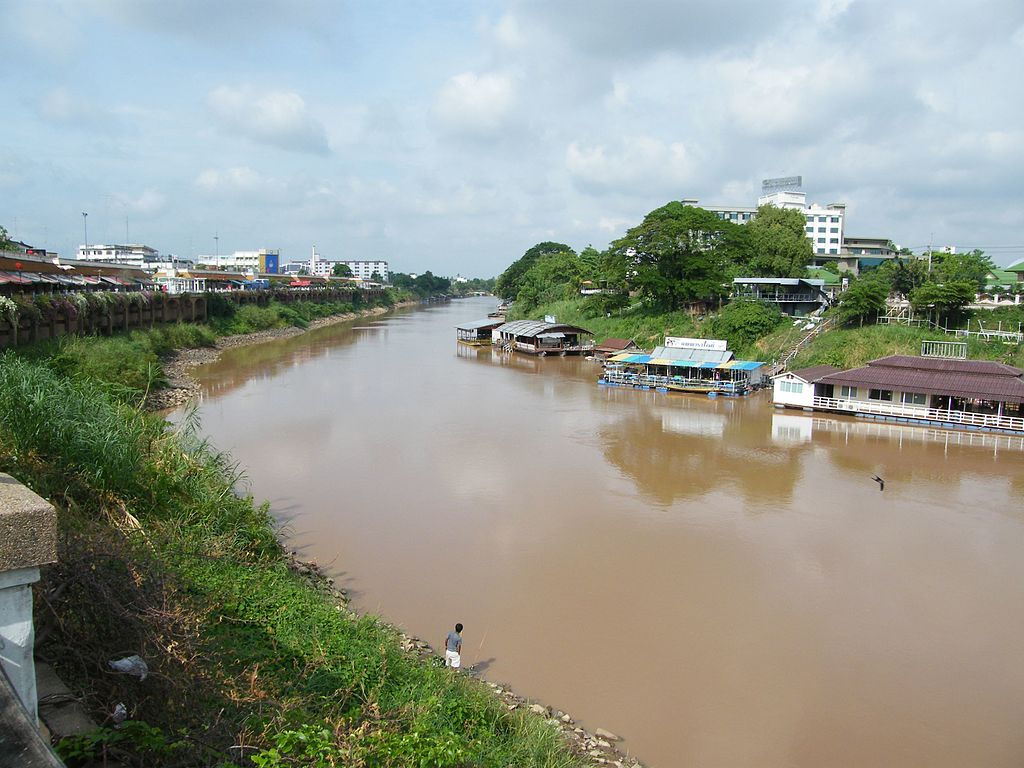 Nan River in Phitsanulok.