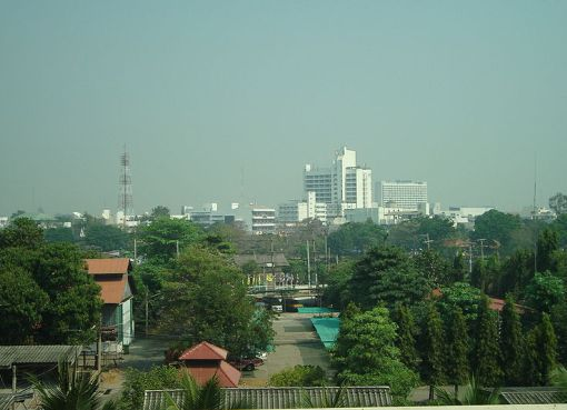 Skyline of Phitsanulok