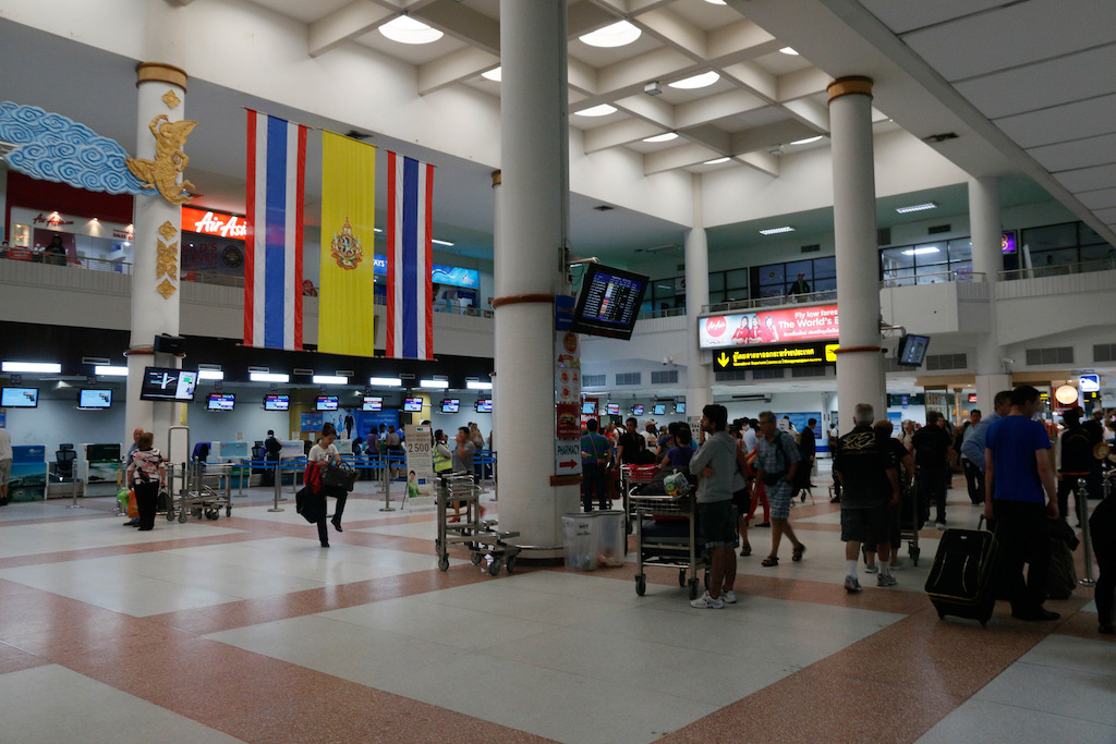 Phuket International Airport lobby