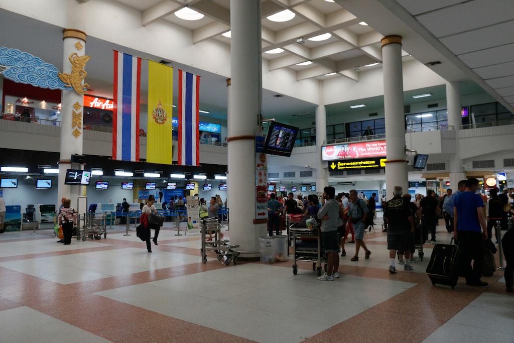 Phuket International Airport lobby