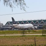 Star Alliance Boeing 747 at Phuket Airport