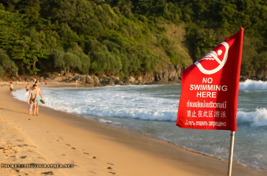 Chinese tourist rescued at Nai Harn Beach