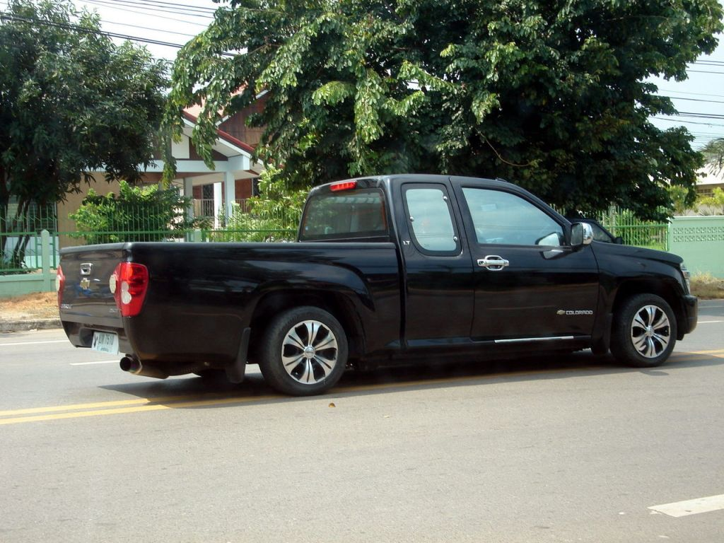 Custom Chevrolet Colorado in Thailand