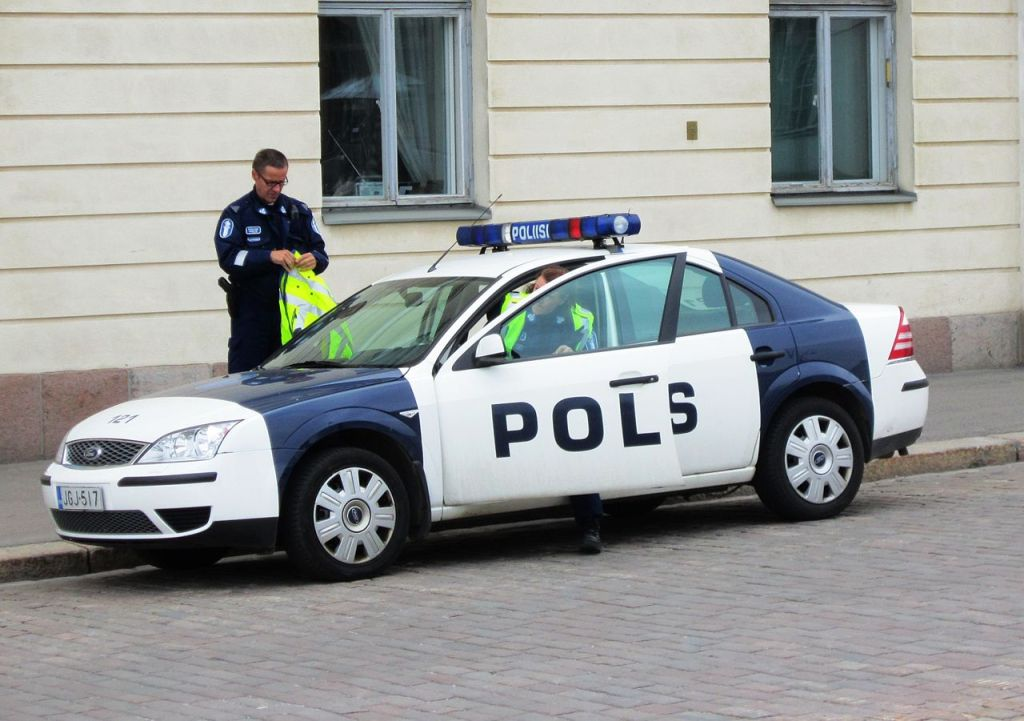 Finnish police car