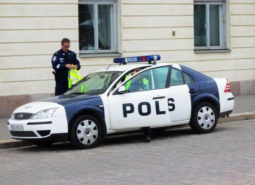 Finnish police car