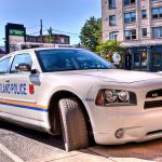 Dodge Charger Portland, Oregon police patrol car