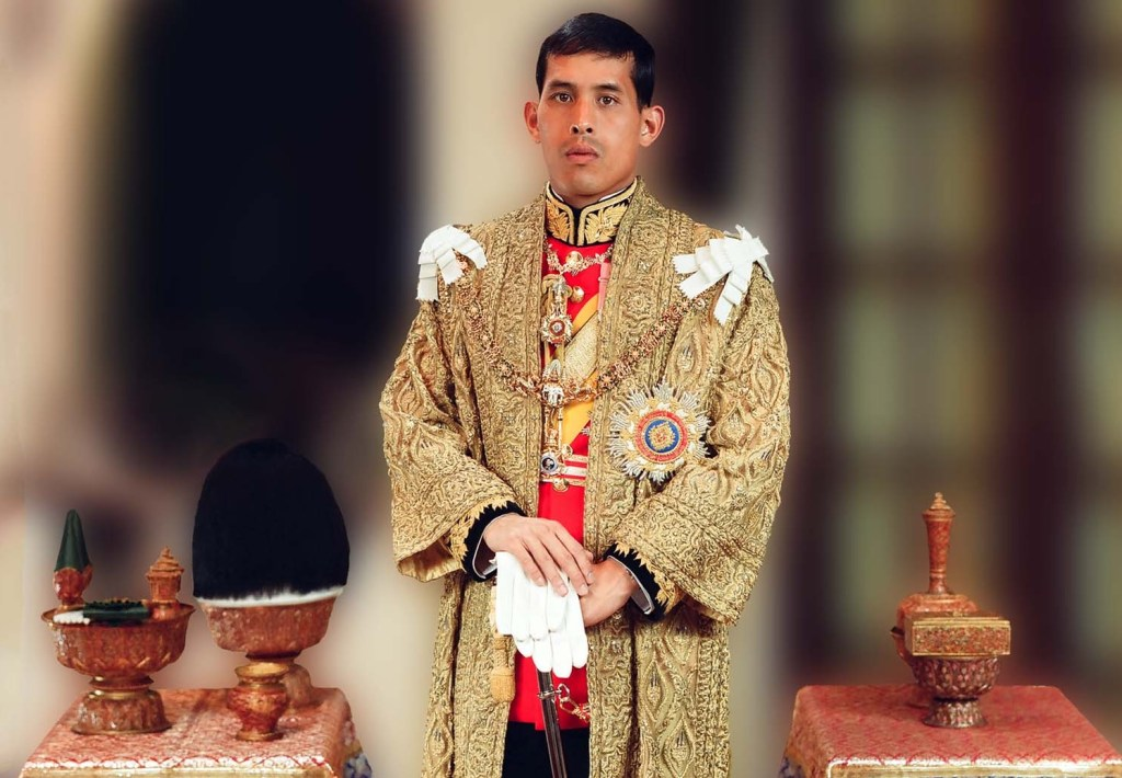 Portrait of King Maha Vajiralongkorn (Rama X)