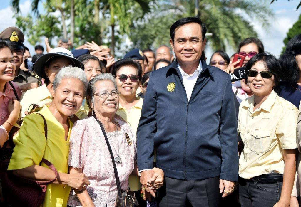 Prime Minister of Thailand Prayut Chan-ocha during a visit