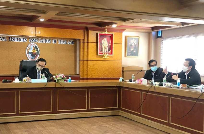 Prayut Chan-o-cha at National Fisheries Association of Thailand (FIS)