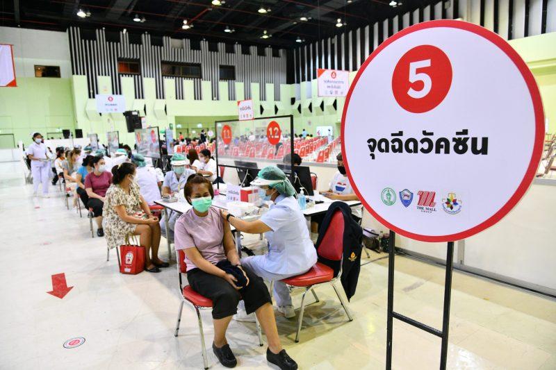 COVID-19 Vaccination Site at The Mall Bangkapi, Bangkok
