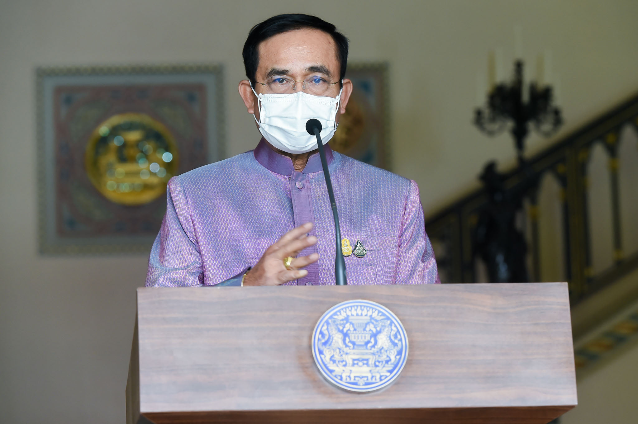 Prayut Apologizes for Vaccine Management Problems