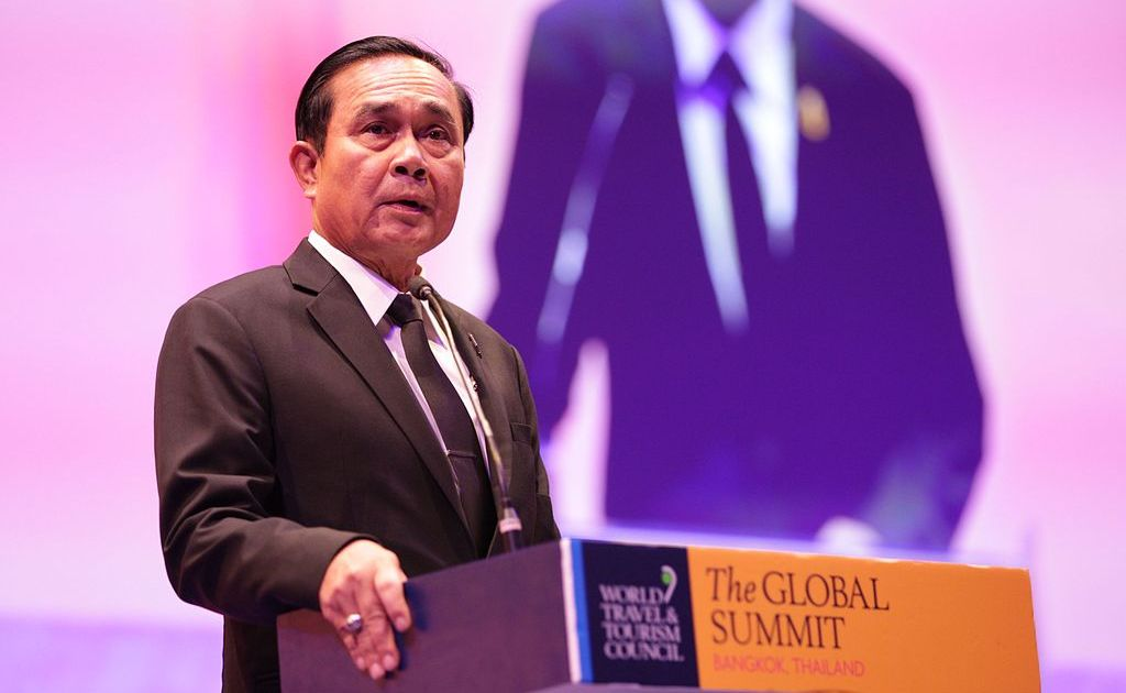 Prayut Chan-o-cha during the WTTC Global Summit 2017