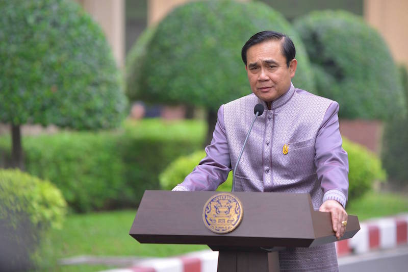 Prime Minister of Thailand General Prayut Chan-ocha
