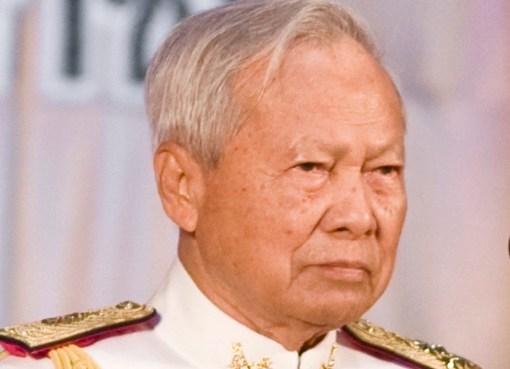 General Prem Tinsulanonda, President of the Privy Council of Thailand and Regent pro tempore of Thailand