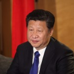 President of China Xi Jinping in London
