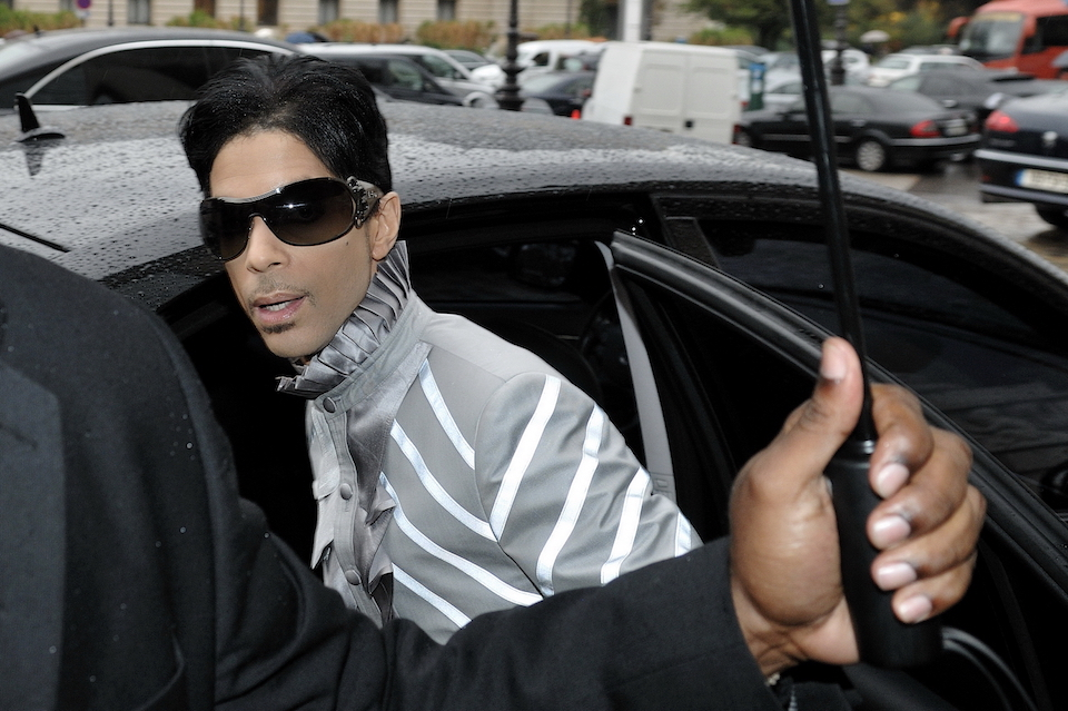 Pop star Prince Rogers Nelson