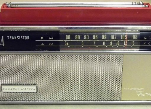 Channel Master 14-Transistor Two-Band (AM-FM) Radio