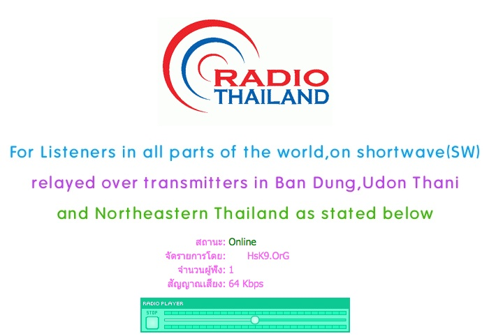 Radio Thailand celebrating its 84th anniversary