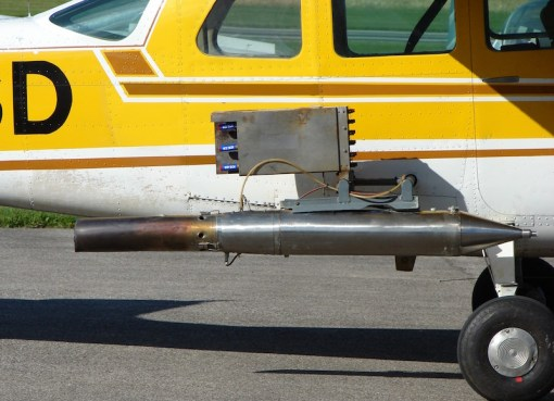 Rainmaking Cessna 206