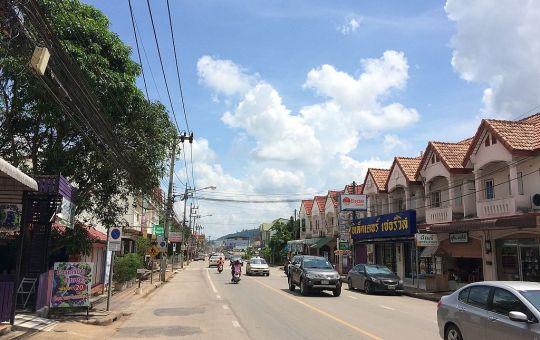 Road in Surat Thani