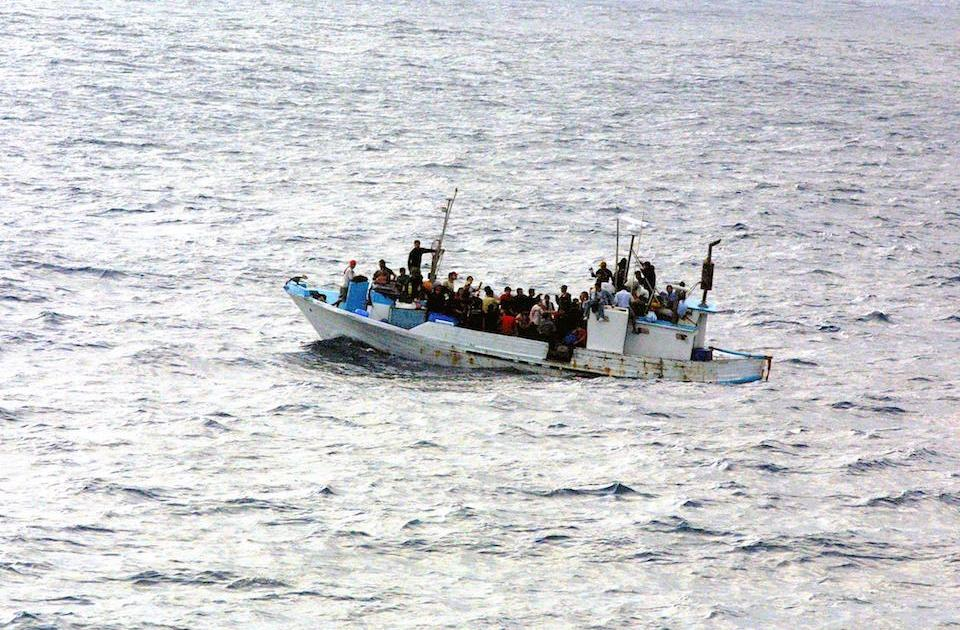 Vessel with 90 Rohingya Muslims on board