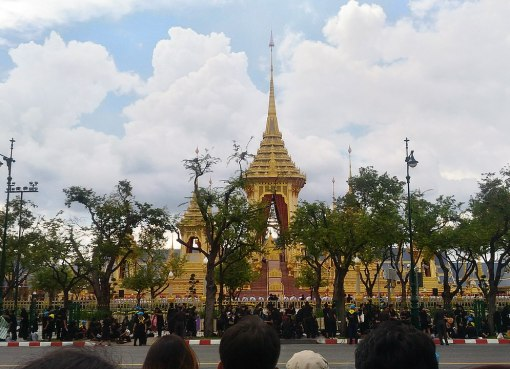 Royal crematorium of HM King Bhumibol Adulyadej