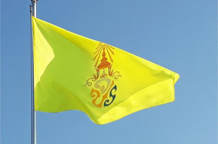 Royal Flag of King Maha Vajiralongkorn(Rama X) of Thailand