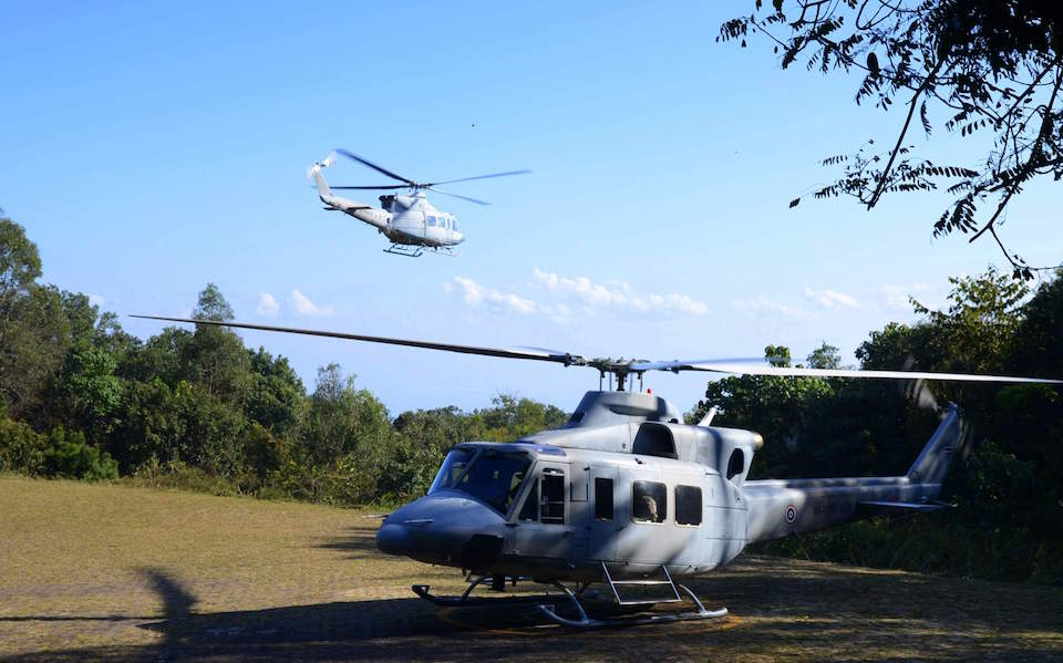 Royal Thai Air Force helicopter