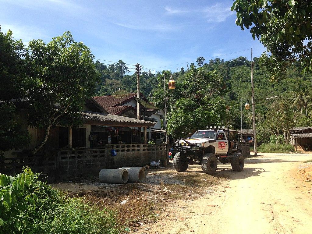 Rueso District in Narathiwat