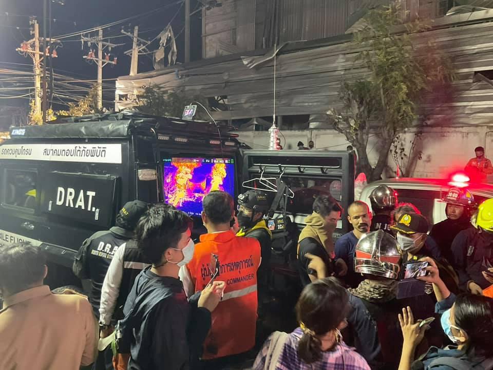 Samut Prakan chemical factory explosion inferno kills 1, at least 60 injured