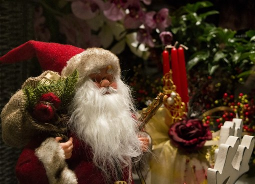 Christmas with Santa Claus, also known as Saint Nicholas