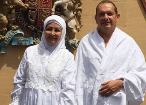 Simon Collins, the British ambassador to Saudi Arabia, converts to Islam and completes Hajj pilgrimage