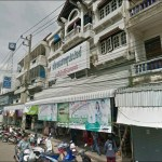 Busy street in Sisaket