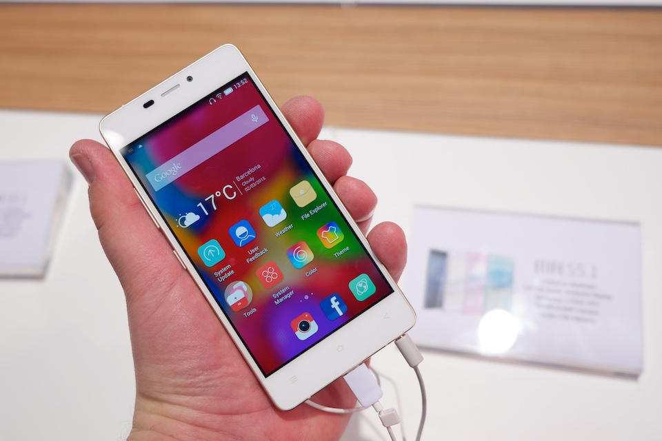 Gionee at Mobile World Congress
